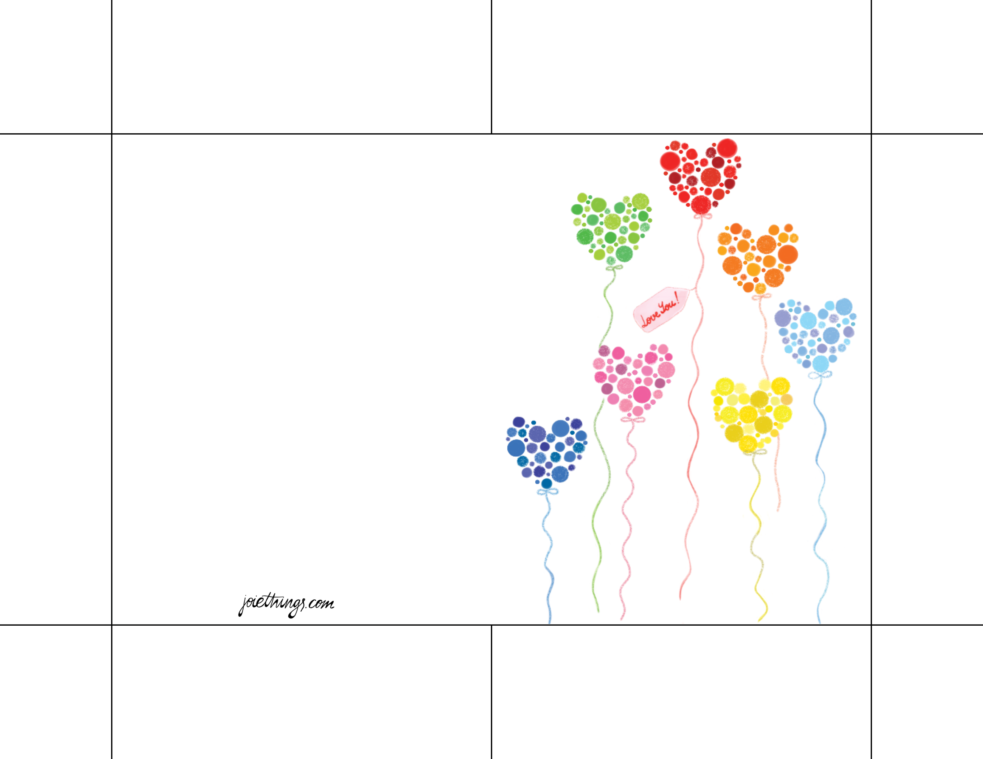 Printable greeting card joiethings i recommend to print it on the cardstock paper it gives more stiffness to your creation m4hsunfo