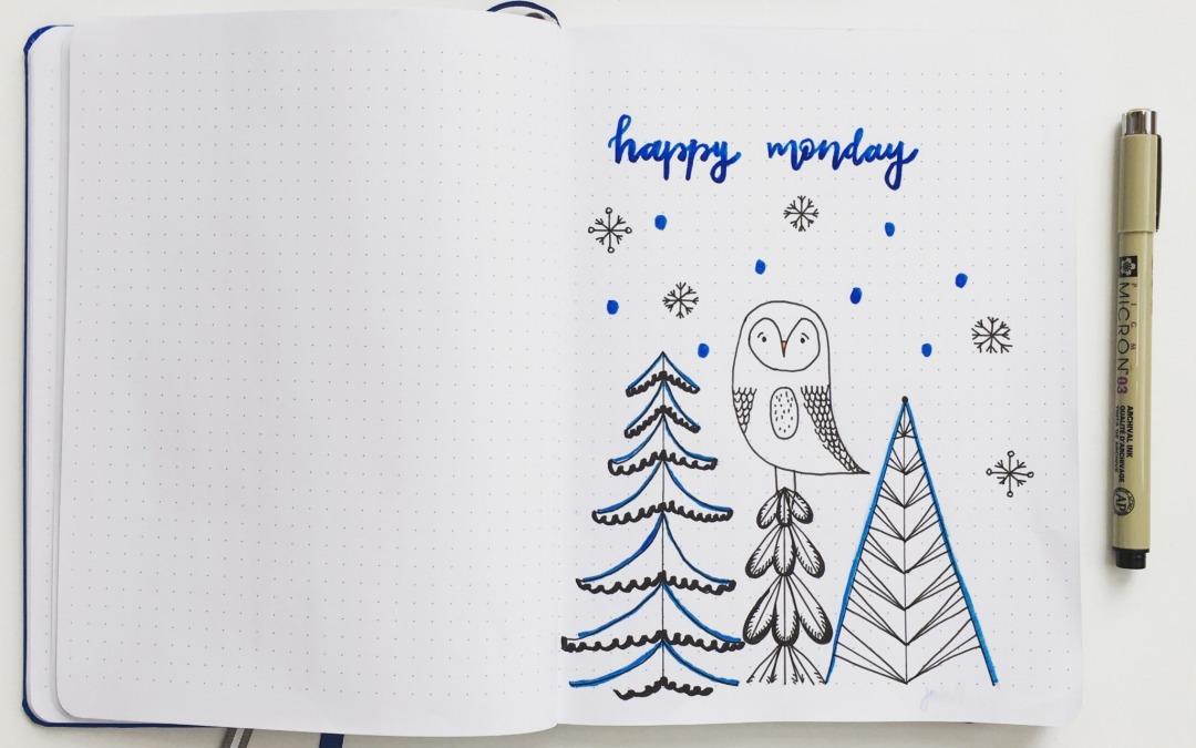 Bullet Journal Owl