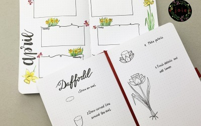 What everybody ought to know about easy Daffodil drawing in your bullet journal