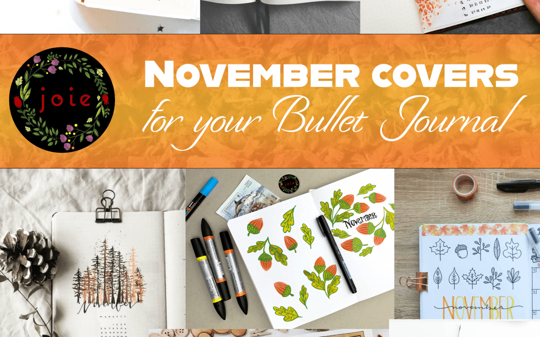 10 November covers for Bullet Journal